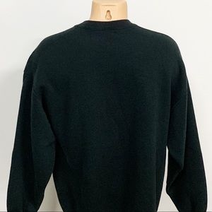 Guess Shirts - Vintage   Guess Black Embroidered Sweatshirt L